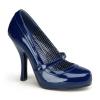 CUTIEPIE-02 Navy Blue Patent